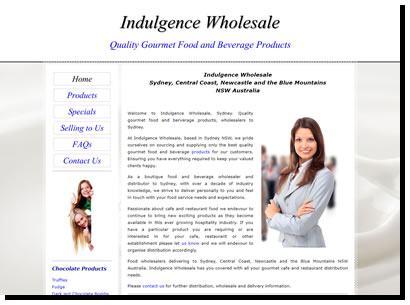 Indulgence Wholesale
